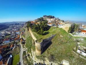 Αεροφωτογραφία του κάστρου