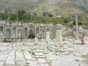Το Νυμφαίο στην αρχαία Σαγαλασσό