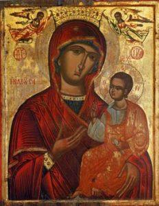 Παναγία ἡ Ἐλεοῦσα. Ἱ. Μ. Παναγίας Ἀμιρούς, Λεμεσός.