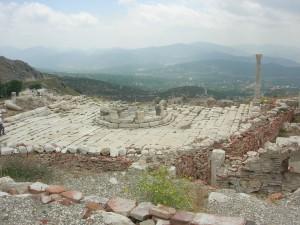 Το αρχαίο θέατρο στην Σαγαλασσό