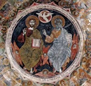Πατήρ, Υἱὸς καὶ Ἅγιον Πνεύμα, Μονή Καισαριανῆς
