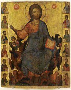 Ὁ Χριστὸς ἐν δόξῃ καὶ οἱ δώδεκα Ἀπόστολοι
