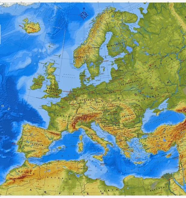 Η Κρήτη βρίσκεται νοτιότερα από το βορειότερο άκρο της Αφρικής